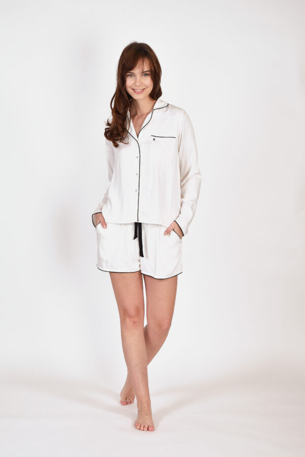 LORDS & LILIES Dames pyjama, gebroken wit