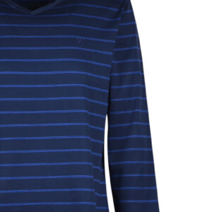 Woody Heren pyjama, donkerblauw-blauw