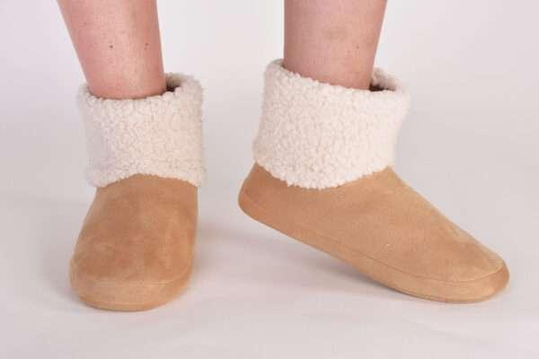 LORDS & LILIES Pantoffels, gebroken wit