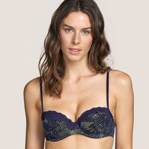 MAMBA Majestic Blue balconnet bh met mousse cups
