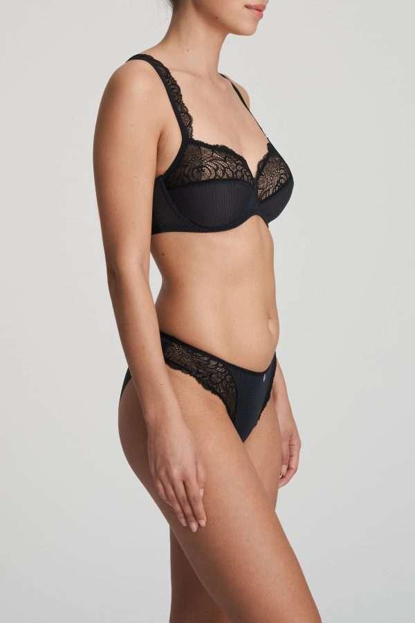 ANNA zwart rioslip