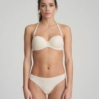 TOM Pearled Ivory balconnet bh met mousse cups