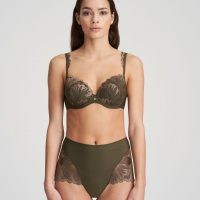 PHOEBE olive green tailleslip