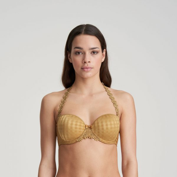 AVERO gold mousse bh - strapless
