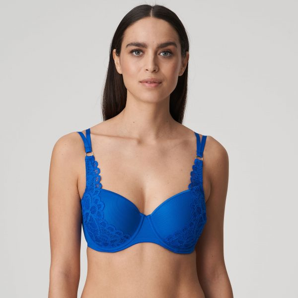 FIRST NIGHT electric blue balconnet bh met mousse cups