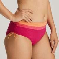 TANGER pink sunset bikini tailleslip met koordjes