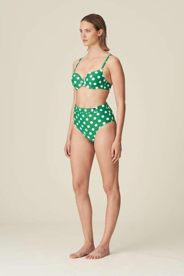 ROSALIE Kelly Green bikini hartvorm met mousse