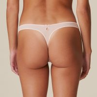 DOLORES glossy pink string