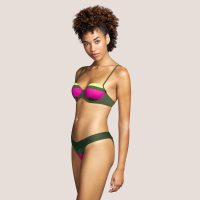 ELSA paradise green bikini balconnet bh mousse