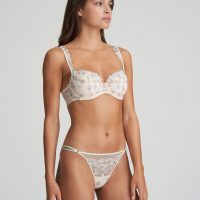 NATHY Pearled Ivory balconnet bh met mousse cups