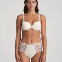 NATHY Pearled Ivory tailleslip