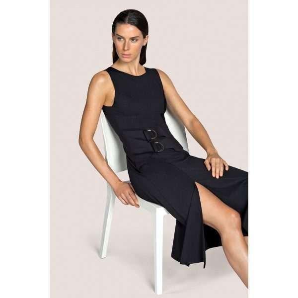 KATHRYN zwart badmode stretch jurkje