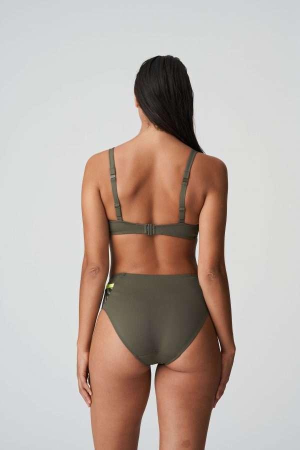 ATUONA Fluo jungle bikini tailleslip