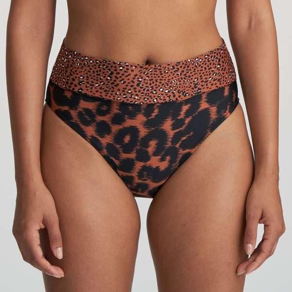 AMANDA zanzibar bikini slip met omslag
