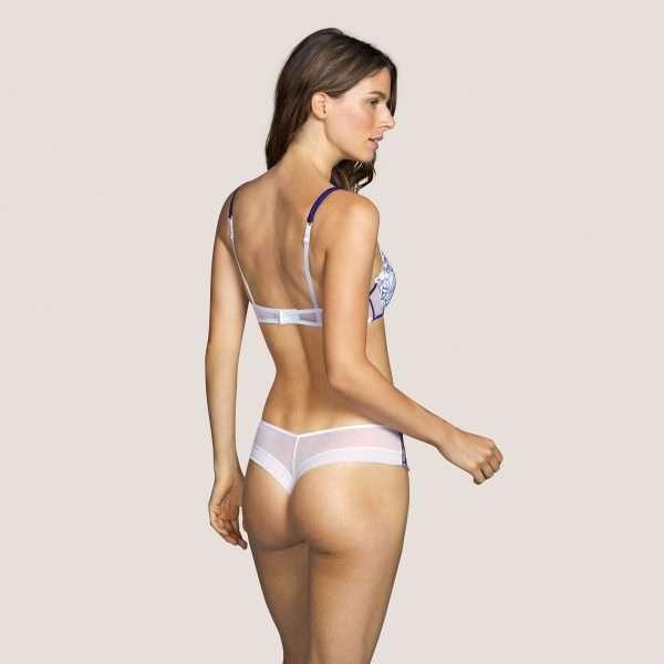 TARSILIA wit push-up bh uitneembare pads