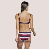 MEGAN Water Blue bikini beugelbeha met mousse