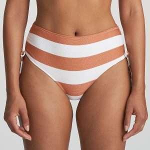 FERNANDA Summer copper bikini tailleslip met koordjes