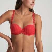 AVERO scarlet mousse bh - strapless