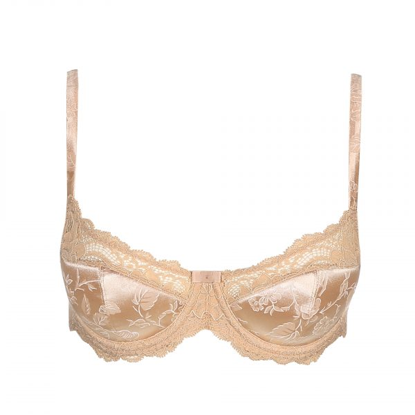 SYLVIA Glossy Sand balconnet mousse met naad
