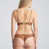 AMALIE Bronzo d'oro string