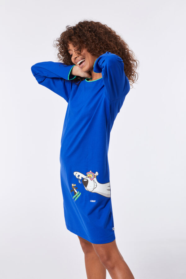 Woody Slaapkleed, blauw