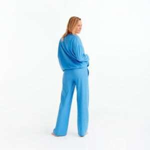 LORDS x LILIES Meisjes-Dames t-shirt en broek, lichtblauw