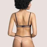 RENATA zwart string short
