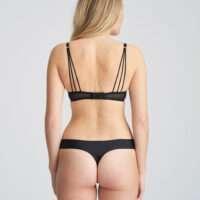 GLORIA zwart string