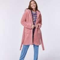 Woody Meisjes-Dames kamerjas, roze