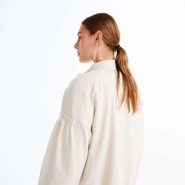 LORDS x LILIES Dames jas, gebroken wit