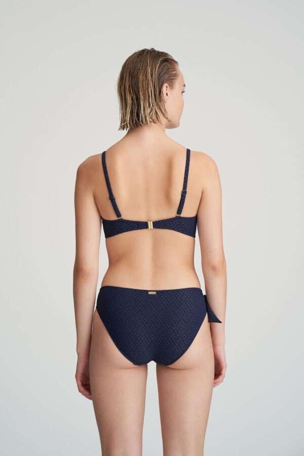 VALENTINA evening blue bikini beugelbh