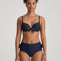 VALENTINA evening blue bikini tailleslip