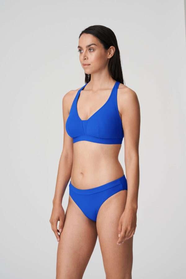 HOLIDAY electric blue bikini uitneembare pads